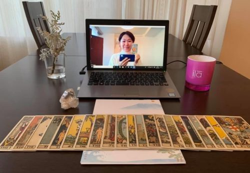 Online Healing Sessions with Mariko since March, 2020